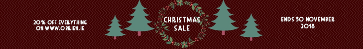 obrien.ie - Misc images - Christmas Sales Tablet Banner