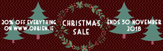 obrien.ie - Misc images - Christmas Sale Phone Banner